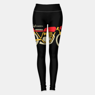 Thumbnail image of Caferacer Leggings, Live Heroes
