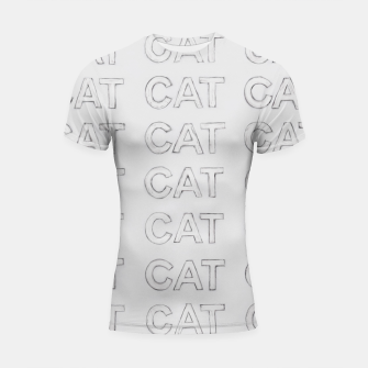 Thumbnail image of Grey cats Shortsleeve rashguard, Live Heroes