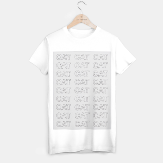 Grey cats T-shirt regular thumbnail image
