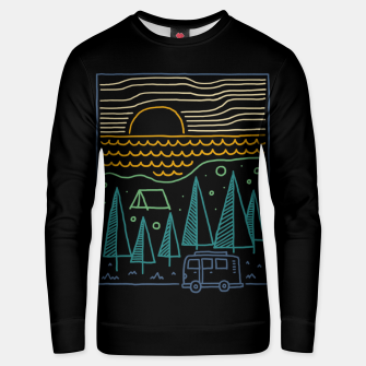 Thumbnail image of Camp River Unisex sweater, Live Heroes