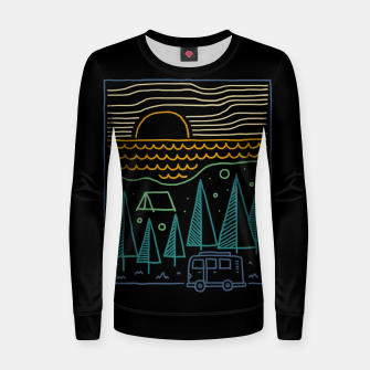 Thumbnail image of Camp River Women sweater, Live Heroes