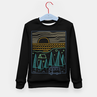 Thumbnail image of Camp River Kid's sweater, Live Heroes
