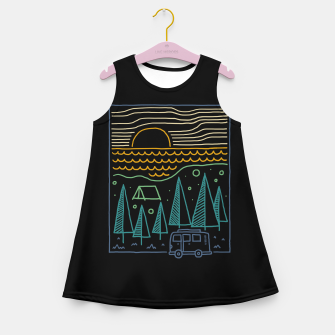 Thumbnail image of Camp River Girl's summer dress, Live Heroes