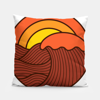 Thumbnail image of Sunset Cyrcle Pillow, Live Heroes