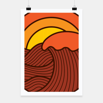 Thumbnail image of Sunset Cyrcle Poster, Live Heroes