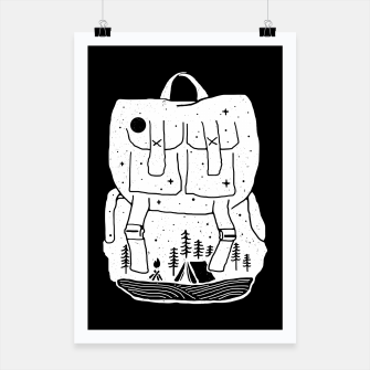Thumbnail image of Backpacker Poster, Live Heroes