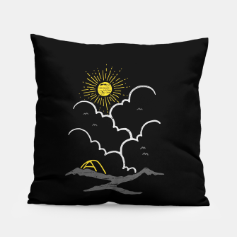 Thumbnail image of On the Top (Mountain) Pillow, Live Heroes