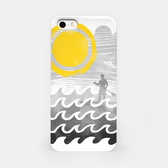 Miniatur Standup Paddle iPhone Case, Live Heroes
