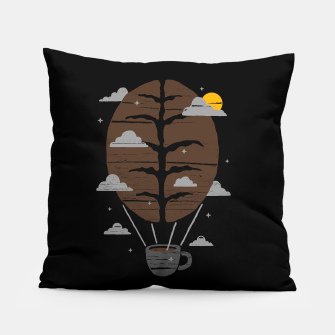 Thumbnail image of Coffeemagination Pillow, Live Heroes