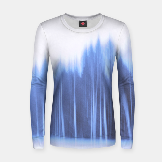 Thumbnail image of Forest in a row Women sweater, Live Heroes