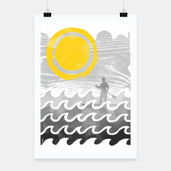 Thumbnail image of Standup Paddle Poster, Live Heroes