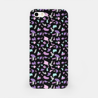 Thumbnail image of Terrazzo pattern black  iPhone Case, Live Heroes