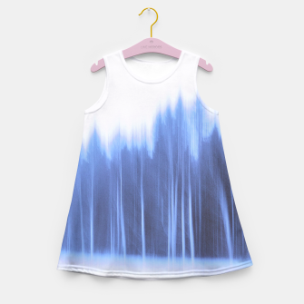 Thumbnail image of Forest in a row Girl's summer dress, Live Heroes
