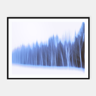 Thumbnail image of Forest in a row Framed poster, Live Heroes