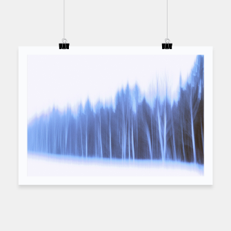 Thumbnail image of Forest in a row Poster, Live Heroes