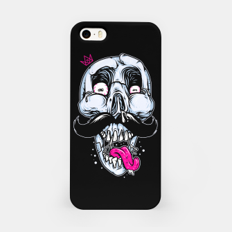 Miniatur King of Mustache iPhone Case, Live Heroes