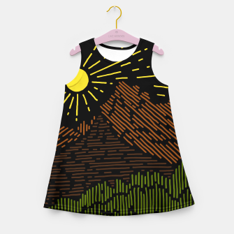 Thumbnail image of Mountain Line Girl's summer dress, Live Heroes