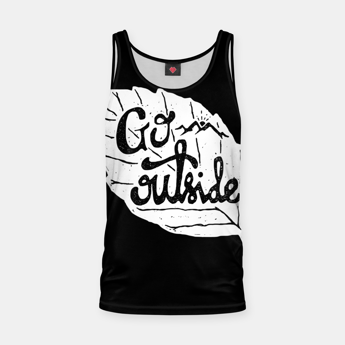 Image de Go Outside Tank Top - Live Heroes