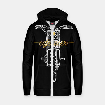 Thumbnail image of Caferacer Zip up hoodie, Live Heroes