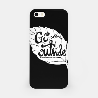 Go Outside iPhone Case miniature
