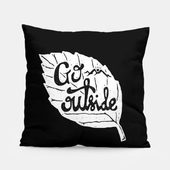 Go Outside Pillow miniature