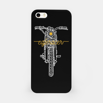Miniatur Caferacer iPhone Case, Live Heroes