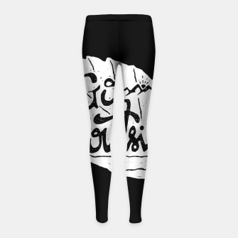 Go Outside Girl's leggings miniature