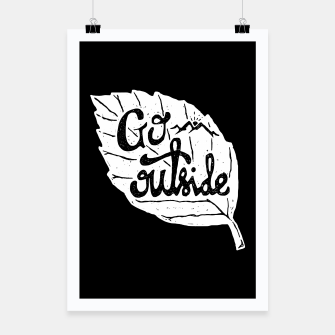 Go Outside Poster miniature