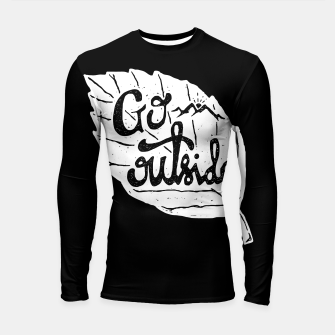 Go Outside Longsleeve rashguard  miniature