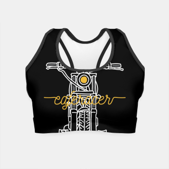 Thumbnail image of Caferacer Crop Top, Live Heroes
