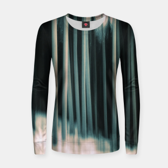 Thumbnail image of Flash of silver Women sweater, Live Heroes