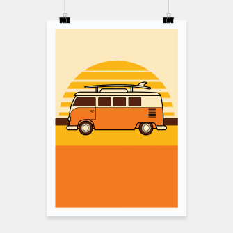 Thumbnail image of Sunset Van Poster, Live Heroes