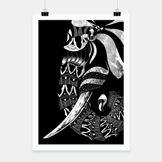 Thumbnail image of Elephant Ornate Poster, Live Heroes