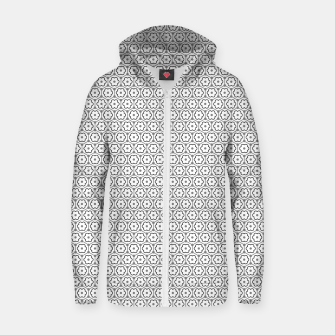 Thumbnail image of Floral Graphene Sudadera con capucha y cremallera , Live Heroes