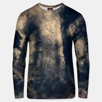 Thumbnail image of abstract misty forest painting hvhdall Unisex sweater, Live Heroes