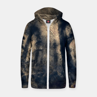 Thumbnail image of abstract misty forest painting hvhdall Zip up hoodie, Live Heroes