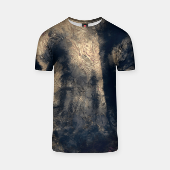 Thumbnail image of abstract misty forest painting hvhdall T-shirt, Live Heroes