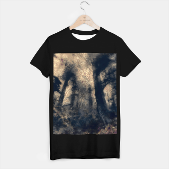 Thumbnail image of abstract misty forest painting hvhdall T-shirt regular, Live Heroes