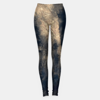 Thumbnail image of abstract misty forest painting hvhdall Leggings, Live Heroes