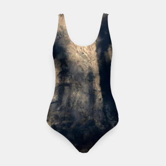 Thumbnail image of abstract misty forest painting hvhdall Swimsuit, Live Heroes