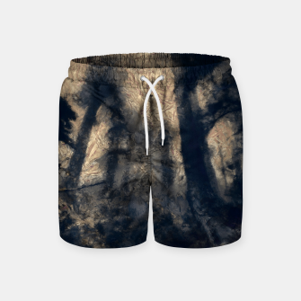 Thumbnail image of abstract misty forest painting hvhdall Swim Shorts, Live Heroes