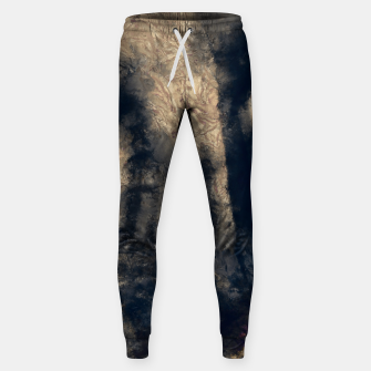 Thumbnail image of abstract misty forest painting hvhdall Sweatpants, Live Heroes