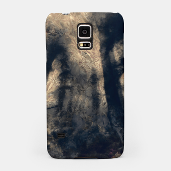 Thumbnail image of abstract misty forest painting hvhdall Samsung Case, Live Heroes