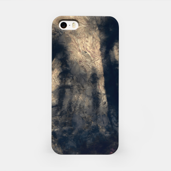 Miniatur abstract misty forest painting hvhdall iPhone Case, Live Heroes
