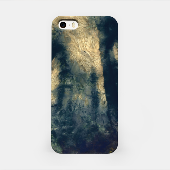 Miniatur abstract misty forest painting hvhdfn iPhone Case, Live Heroes