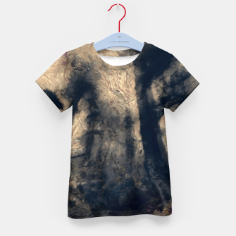 Thumbnail image of abstract misty forest painting hvhdall Kid's t-shirt, Live Heroes