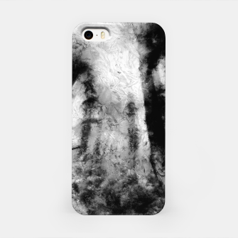 Miniatur abstract misty forest painting hvhdbw iPhone Case, Live Heroes