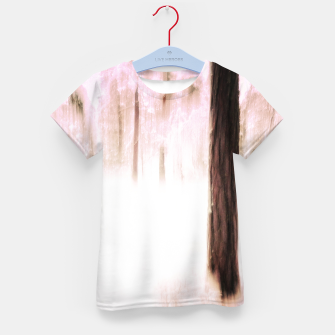 Thumbnail image of Pink winter Kid's t-shirt, Live Heroes