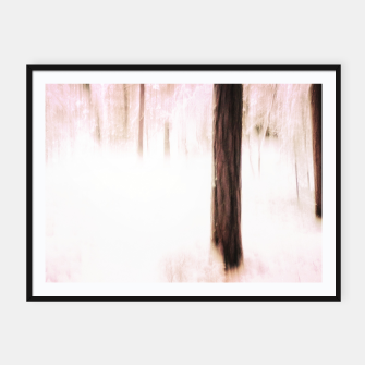 Thumbnail image of Pink winter Framed poster, Live Heroes