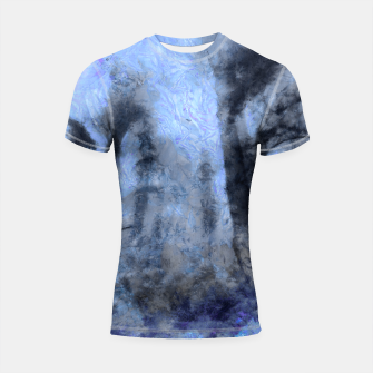 Thumbnail image of abstract misty forest painting hvhdc80 Shortsleeve rashguard, Live Heroes